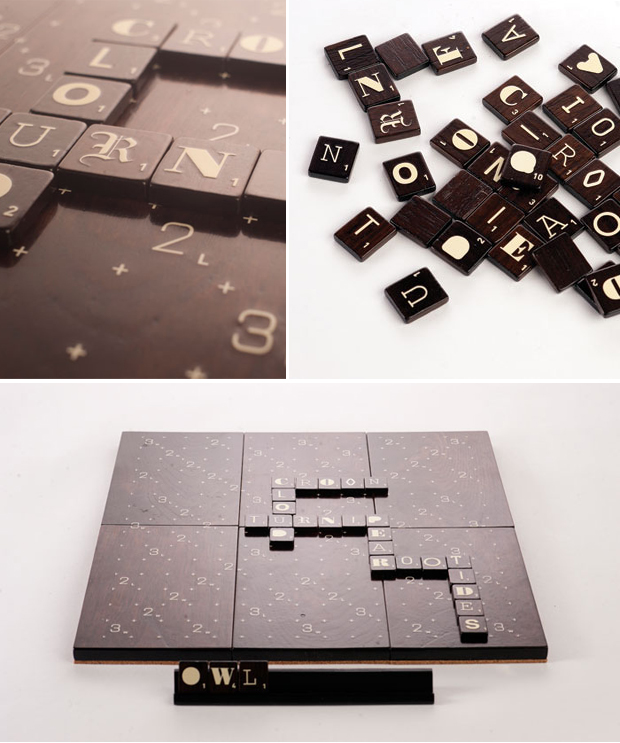 Scrabble Typography Edition 1